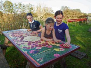 Speeltafel bij De Stal